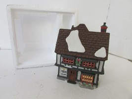 DEPT 56 55689 HERITAGE VILLAGE TUTBURY PRINTER BUILDING NO CORD FOAM BOX D9 - $12.69
