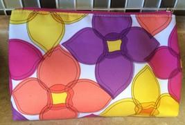 Clinique Make Up Bag Floral Print - $5.89