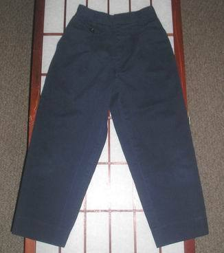 Bugle boy girls blue school uniform pants sz 6