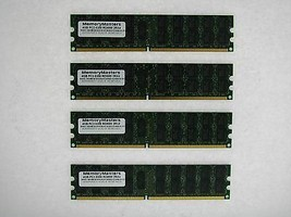 16GB (4X4GB) MEMORY FOR IBM SYSTEM P6 520 8203