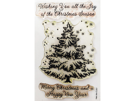 Hero Arts Christmas Tree and Sentiments Stamp Set #CL561 - $6.99