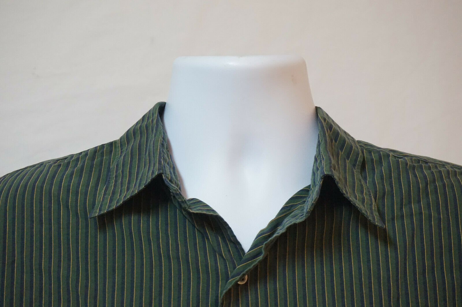 Primary image for Polo Ralph Lauren Midweight Button-Front Shirt, Excellent, Men's 2XL 1002