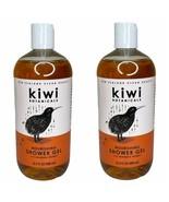 2 Bottles Kiwi Botanicals Nourishing Shower Gel with Manuka Honey 16.5 oz each - $29.69