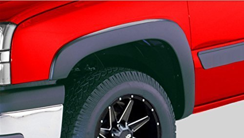 4pcs 820//890mm Universal Exterior Fender Flares Flexible Car Body Kit with bolts