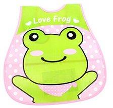 Baby Bib Stereo Disposable Waterproof Bib Saliva Towel Frog 4528CM