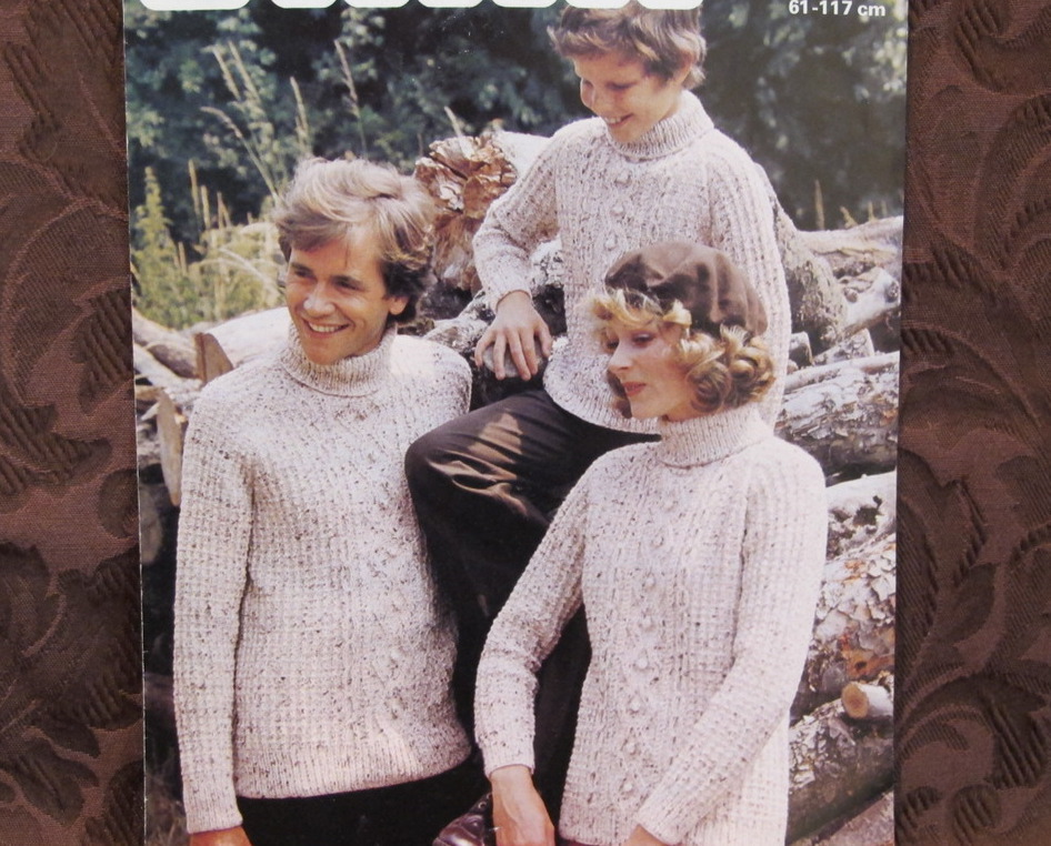 Vintage Patons Knitting Patterns Adults And 50 Similar Items