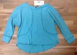 Splendid Girls' Long Sleeve Top, Teal, Size 4/5 - $17.75