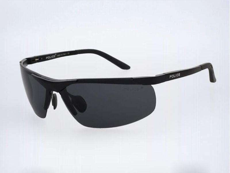 4a26324da0 Aluminum Polarized Police Sunglasses Fashion Men Driving Fishing Goggles