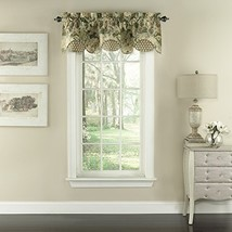 "Waverly Garden Glory 16"" x 60"" Short Valance Small Window Curtains Bathroom, Liv - $39.99"