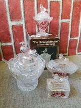 The Byrdes Collection Bavarian Leaded Crystal Etched Miller Import lot o... - $58.00