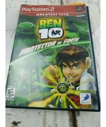 Ben 10 Protector Of Earth - PlayStation 2 PS2 - Complete  - $6.92