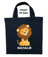 Lion Trick or Treat Bag, Baby Lion Halloween Bag, Lion Loot Bag, Lion Ca... - $11.39+