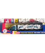 TAMPA BAY RAYS TRACTOR TRAILER MLB 2005 REPLICA SEMI DIECAST TRUCK 1:80 ... - $14.99