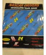 Nascar Drivers Jeff Gordon 24 Reusable Stretchable Bookcover Book Cover New - $4.99