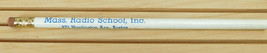 Vintage Massachusetts Mass Radio School Pencil - $10.84