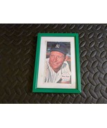 Baseball Player Mickey Mantle NEW YORK YANKEES Picture frame 5x7 Tie Rut... - $59.39