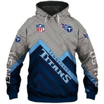 NFL-Tennessee-Titans-Unisex 3D Hoodie S-5XL , Gifts For Fans, Gift For Family - $35.31+