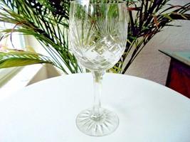High Quality Crystal Cut Wine Glass - $18.80