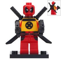 Custom Deadpool Minifigure Marvel Comics Superhero fits Lego - $3.49