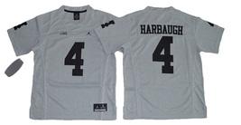 Men's  Michigan Wolverines College Football Jerseys  - 4 Jim Harbaugh - $43.00
