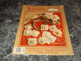 Leisure Arts Magazine February 1989 Goose Rug - $0.99