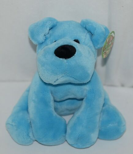 Fiesta Brand Comfies Collection A52862 Hot Colors Blue Plush Puppy Dog