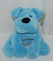 Fiesta Brand Comfies Collection A52862 Hot Colors Blue Plush Puppy Dog - $15.00