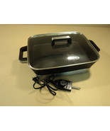 WestBend Non Stick Electric Skillet 15in x 12in x 2 3/4in Fold Out Legs ... - $32.40