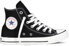 Women Converse Chuck Taylor All Star High Top Black White M9160C - $857,54 MXN
