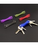 DIY EDC Pocket Key Organize Smart Key Ring Wallets Metal Car Keys Holder... - $230,13 MXN