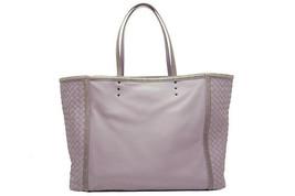 Auth BOTTEGA VENETA Tote Bag Intrecciato Nappa Lavender 361910 F/S Japan - $1,978.02