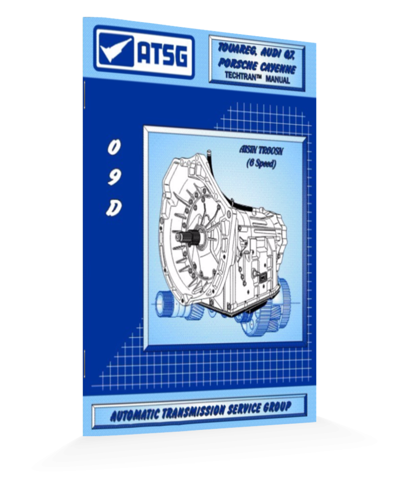 Voltswagon 09d Tr60n Atsg Transmission Manual Handbook