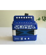 First Act Discovery Accordion Blue Musical Instrument Good Clear Loud So... - $14.24
