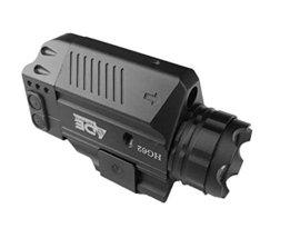 Ade Advanced Optics HG62-1 Strobe Green Laser Flashlight Sight for Pistol Handgu - $56.43