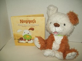 Nugget the dog interactive story buddy book 1 First day of School Kinder... - $39.59