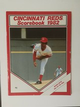 Vintage Cincinnati Reds 1982 Scorebook Unscored - Mario Soto - $6.64
