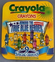 Crayola Honors The True Blue Heroes Limited Edition Special Crayons 1997 New - $15.00