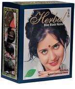 HERBUL Hair Henna Pure Rich Natural Product Blue Black Colour 6 x 10 g - $5.99