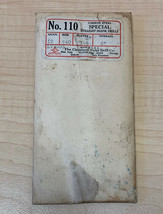 Vintage Cleveland Twist Drill Co Pack of 12 Straight Shank Drills No 110... - $11.83