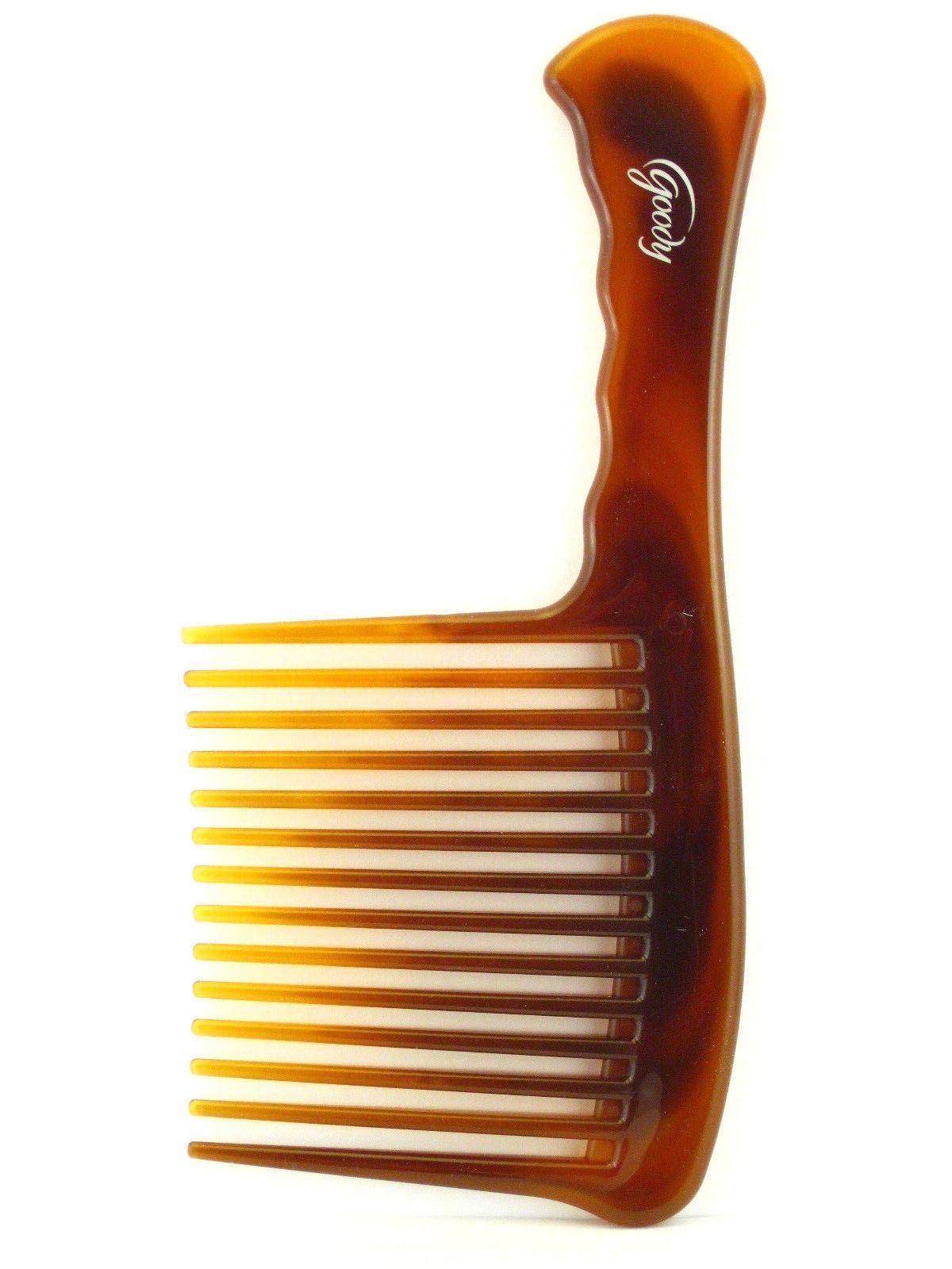 GOODY MOSAIC EXTRA LARGE DETANGLING HAIR COMB - TORTOISE (45617)