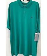 Callaway Opti-Dri Performance Mens Golf Polo Shirt Green XXL NWT - $20.33