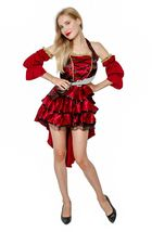 Female Adult Pirate Halloween Costume Cosplay Outfit image 2