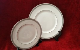 Royal Doulton Ravenswood Dinner Plate and Salad Plate H5008 - $22.76