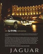 2008 Jaguar S-TYPE SATIN EDITION sales brochure sheet 08 FINAL - $6.00