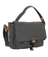 "Vagarant Traveler 12"" Casual Small Canvas Messegner Bag C54.Gry - $59.00"