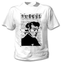 Frederic Chopin Composer - New Cotton White Tshirt - $23.59