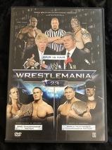 WWE WrestleMania 23 DVD  - $19.95
