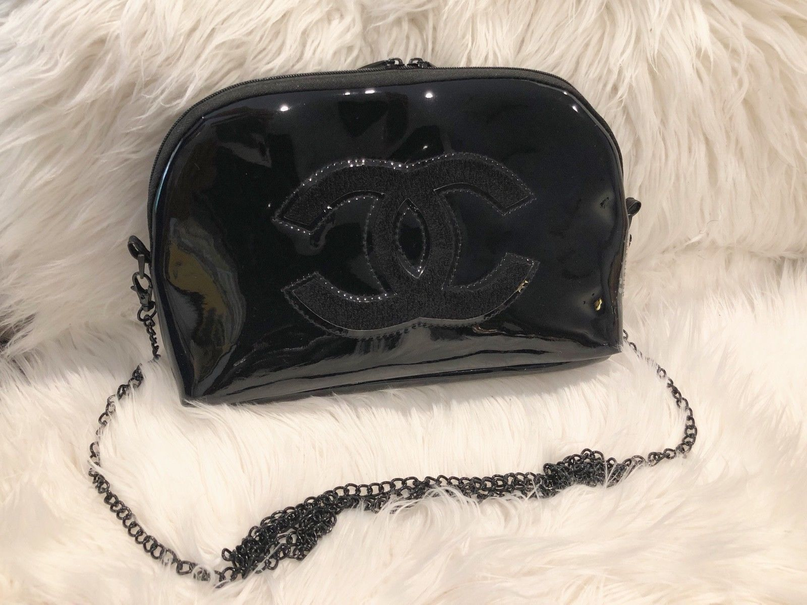 aa46a19ca6bc Chanel Make up Bag w/ a Crossbody Metal and 50 similar items