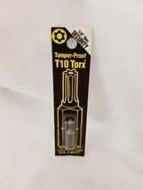Best Way Tools T10 Torx  Screwdriver Bit  1/4 in. Dia. x 1 in. 86777 - $5.89