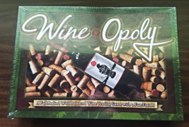 Wine Opoly--Wine Trading Board Game--Late for the Sky--USA - $15.00